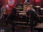 """Macklemore Feat. Ryan Lewis & Schoolboy Q """"Perform """"White Walls"""" (Live On Leno)"""" Video"""
