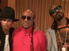 Snoop Dogg In The Studio With Pharrell & Stevie Wonder