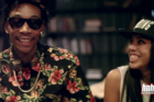 "Wiz Khalifa & Tuki Carter Talk Collaborating & Different Types Of ""Ratchet"""