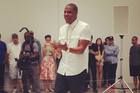 "Jay-Z Is Doing A Performance Art Piece Of ""Picasso Baby"" Today In NYC"