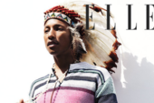 """Pharrell Wears Native American Headdress For Elle UK, Sparks """"#NotHappy"""" Outrage"""
