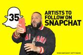 35 Artists To Follow On Snapchat