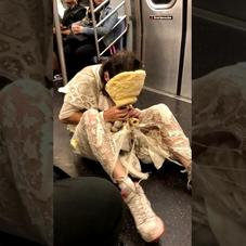 WTF? This Is One Of The Most Bizarre Things You'll See On A Subway