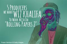 "5 Producers We Want Wiz Khalifa To Work With On ""Rolling Papers 2"""