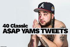 "40 Classic A$AP Yams Tweets In Preparation For A$AP Mob's ""Cozy Tapes Vol. 1"""