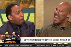 "Watch LaVar Ball And Stephen A. Smith Go At It On ESPN ""First Take"""