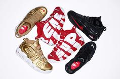 Supreme x Nike Air More Uptempo Release Date + Images Revealed