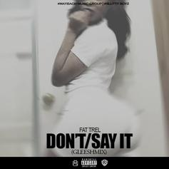 Don't/Say It