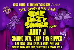 "Juicy J To Headline ""One Hazy Summer"" Smokers Club Tour, With Guests Smoke DZA, Chip Tha Ripper & More"