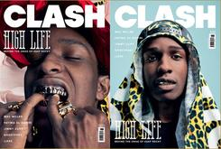 """A$AP Rocky On The Cover Of """"Clash"""""""