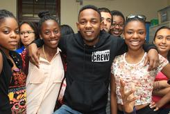 Kendrick Lamar Serves As Principal For The Day At Providence High School