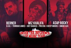 """Episode 2 Of Our Exclusive """"Under The Influence"""" BTS With Berner, Wiz Khalifa, Ty$, Joey Bada$$ & More"""