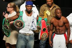 50 Cent's Floyd Mayweather Clowning Persists