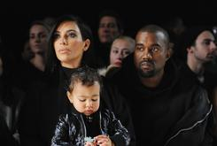 Kanye West & Kim Kardashian Baptize North In Jerusalem