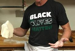 """An Italian Restaurant In New Mexico Is Catching Heat For Selling """"Black Olives Matter"""" Merchandise"""