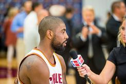 Kyrie Irving Says He'll Be Giving His Championship Ring To His Father