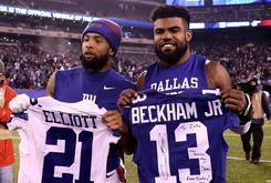 Odell Beckham Jr. Thinks It's Funny That Ezekiel Elliott Didn't Get Fined For His TD Celebration