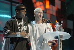 """Suge Knight Tried To Intimidate Eminem And 50 Cent At """"In Da Club"""" Video Shoot"""