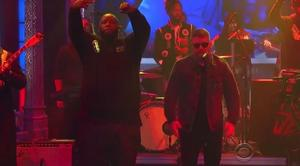 """Run The Jewels Perform """"Angel Duster"""" On Late Show With Stephen Colbert"""