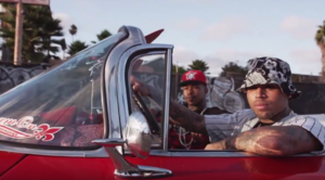 "Compton Menace Feat. Chris Brown ""Put On"" Video"