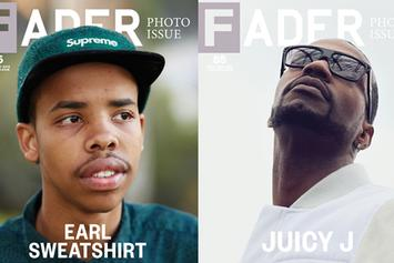 Juicy J & Earl Sweatshirt Cover Fader Magazine