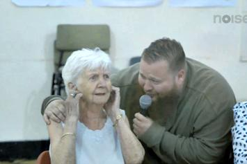 "Action Bronson ""Performs ""Strictly 4 My Jeeps"" At An Old Folks Home"" Video"
