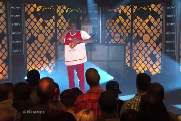 "Danny Brown Performs ""25 Bucks"" On Jimmy Kimmel"