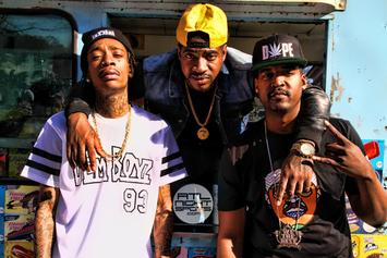 "BTS Of Wiz Khalifa's ""We Dem Boyz"" Video"