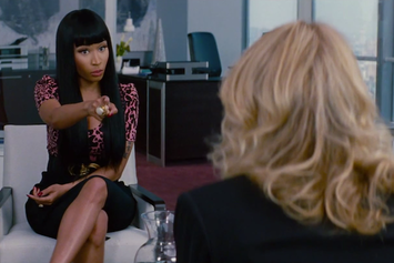 "Nicki Minaj Gives Cameron Diaz Romantic Advice In ""The Other Woman"" Clip"
