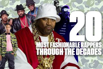 20 Most Fashionable Rappers Through The Decades