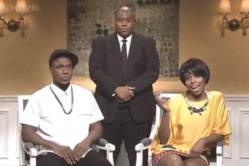 "Jay Z And Solange Incident Spoofed On ""Saturday Night Live"""