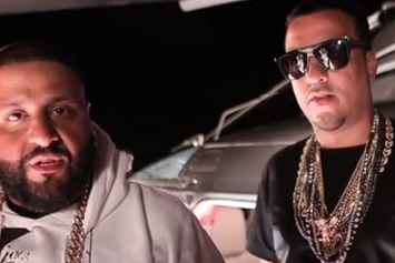 """DJ Khaled Feat. Rick Ross, Meek Mill & French Montana """"They Don't Love You No More"""" BTS Video"""