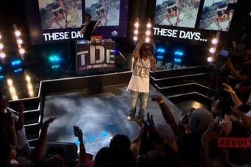 "Ab-Soul Performs ""Stigmata"" On Revolt TV"