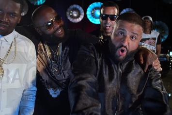 "DJ Khaled Feat. Rick Ross, Meek Mill, French Montana & Jay Z ""They Don't Love You No More"" Video"