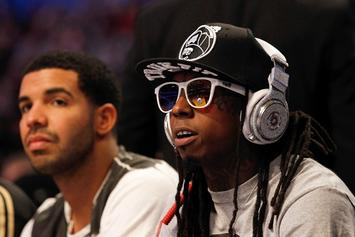 "Single Art Revealed For Lil Wayne's ""Grindin"" Featuring Drake"