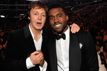 Kanye West Reportedly Recording With Paul McCartney