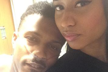 "Nicki Minaj Visits August Alsina In The Hospital, Says Singer Is ""Doing Better"""