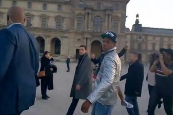 Jay Z Punks Tourist In Paris
