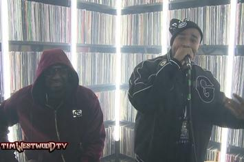 Capone-N-Noreaga Freestyle On Tim Westwood