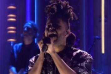 "The Weeknd Performs ""Earned It"" On Jimmy Fallon"