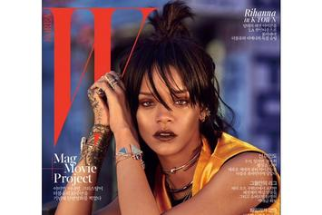 Rihanna Covers W Korea
