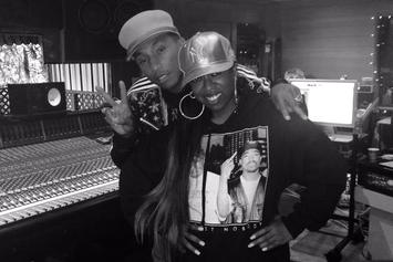 Missy Elliott & Pharrell Spotted In The Studio