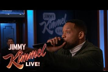 "Will Smith Performs ""Summertime"" On Jimmy Kimmel"