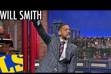 "Will Smith Performs ""Getting Jiggy Wit It"" On David Letterman"