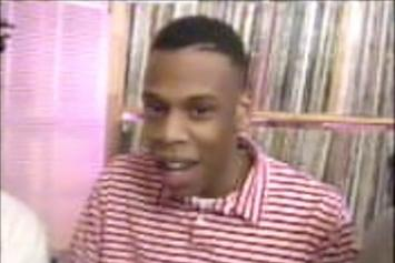 A Young Jay Z Freestyles On TV In 1990
