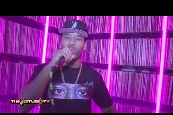 P Reign Freestyles For Tim Westwood