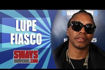 "Lupe Fiasco Explains Why ""Chopper"" is ""Too Damn Long"" On Sway In The Morning"