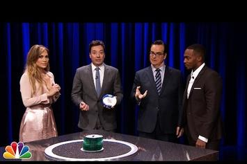 "Jennifer Lopez Plays ""Catchphrase"" On The Tonight Show"
