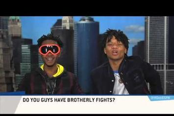 """Rae Sremmurd Can't Contain Their Energy On ESPN's """"Highly Questionable"""""""