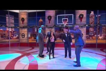 "Nicki Minaj Feat. Shaq, Kenny, EJ & Grant Hill ""Inside the NBA"" Cypher"